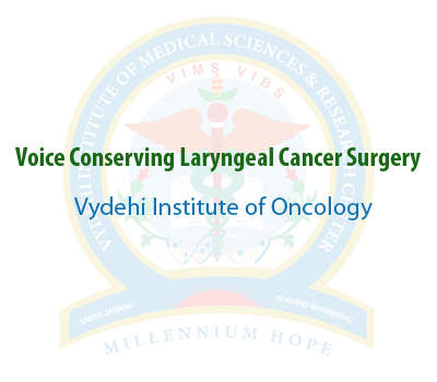 Voice conserving Laryngeal Cancer surgery 