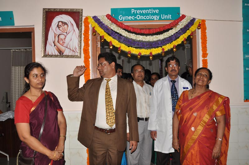 Inauguration of  Preventive Gynaec Oncology wing 10