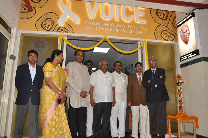 VOICE - Vydehi Oncology Institute and Center of Excellence