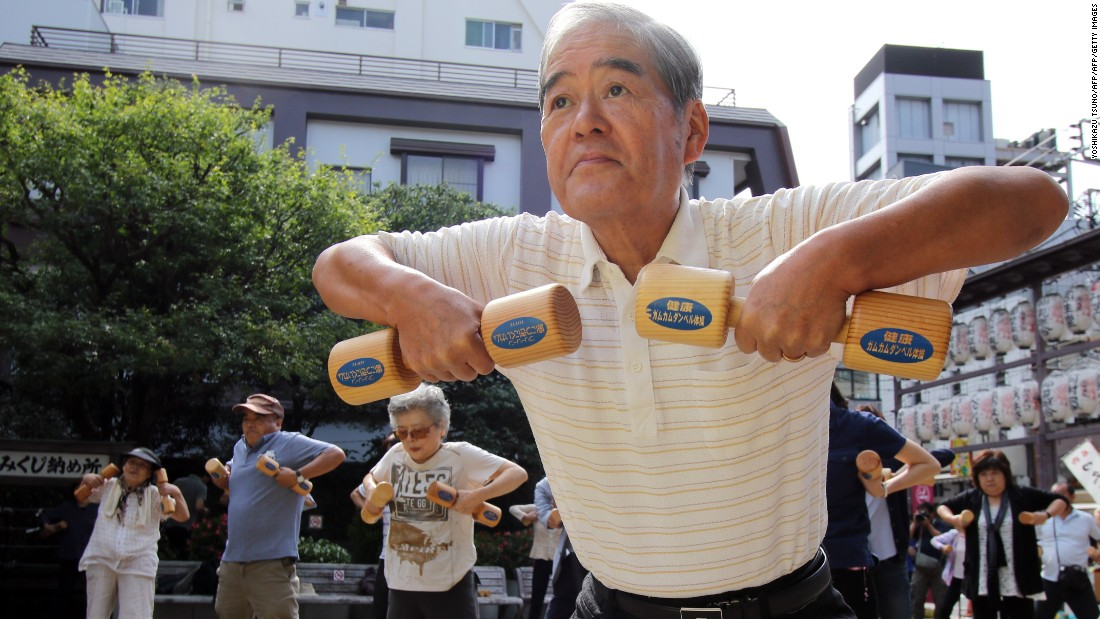 Exercise After 60 Years Could Help Longevity