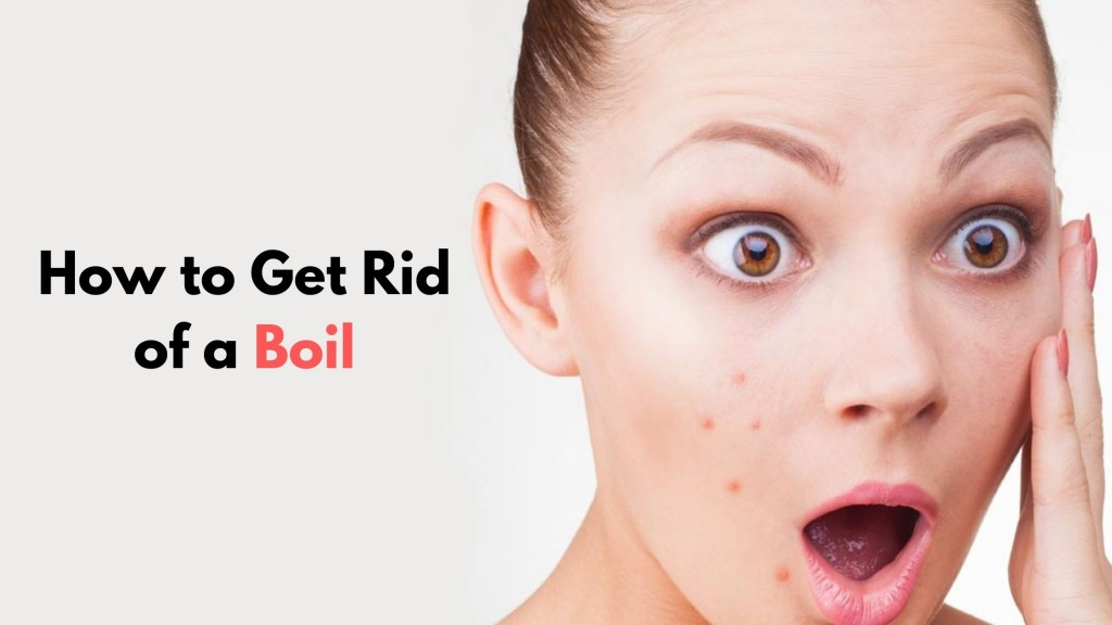 how to get rid of a boil