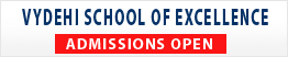 Admission open-Vydehi School Of Excellence