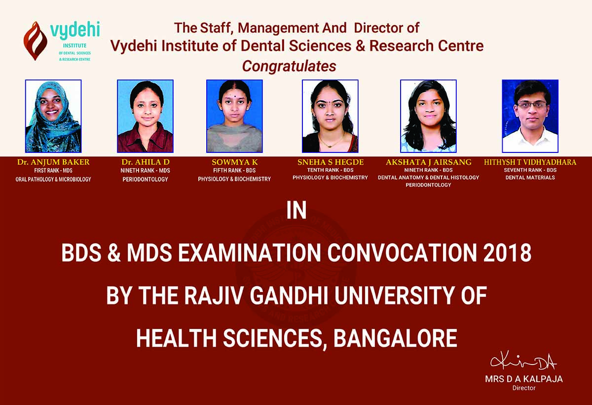 News & Events | Vydehi Institute of Medical Sciences & Research Centre